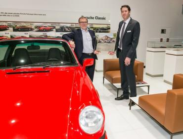 Ce vendredi 24 mars, Porsche Zenter Lëtzebuerg se verra officiellement remettre le certificat Porsche Classic Partner par les représentants de l'importateur luxembourgeois.