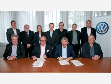 Volkswagen Luxemburg wird ab 2018 neuer Mobilitätspartner der FLF