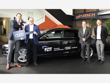 Audi Luxembourg ist neuer Partner der FLTT