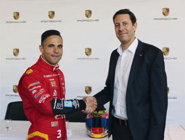 Losch Luxembourg und Porsche Luxembourg unterstützen Porsche Supercup Piloten Dylan Pereira