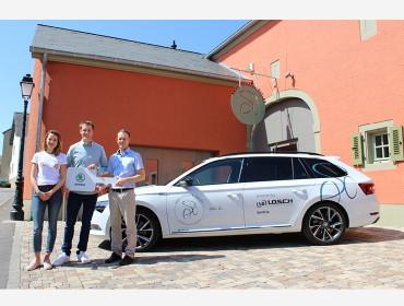 Losch Luxembourg et Andy Schleck prennent la route ensemble