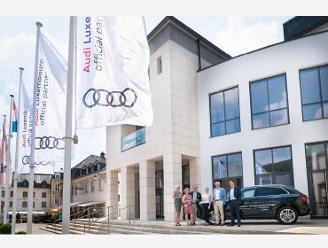 Audi Luxembourg nouveau sponsor principal du TRIFOLION Echternach.