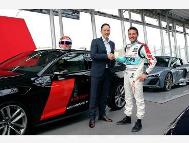 Vorhang auf für die 2. Saison: Audi Luxembourg setzt die erfolgreiche Zusammenarbeit mit dem Audi Sport Rennfahrer Jean-Karl Vernay fort.