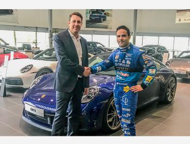 Losch Luxembourg und Porsche Luxembourg unterstützen Porsche Supercup-Pilot Dylan Pereira