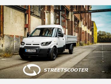 StreetScooter, 100% elektrisch, ein Werkzeug auf Rädern