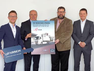 Losch Truck, Van & Bus et Biogros partent ensemble vers un futur électrique